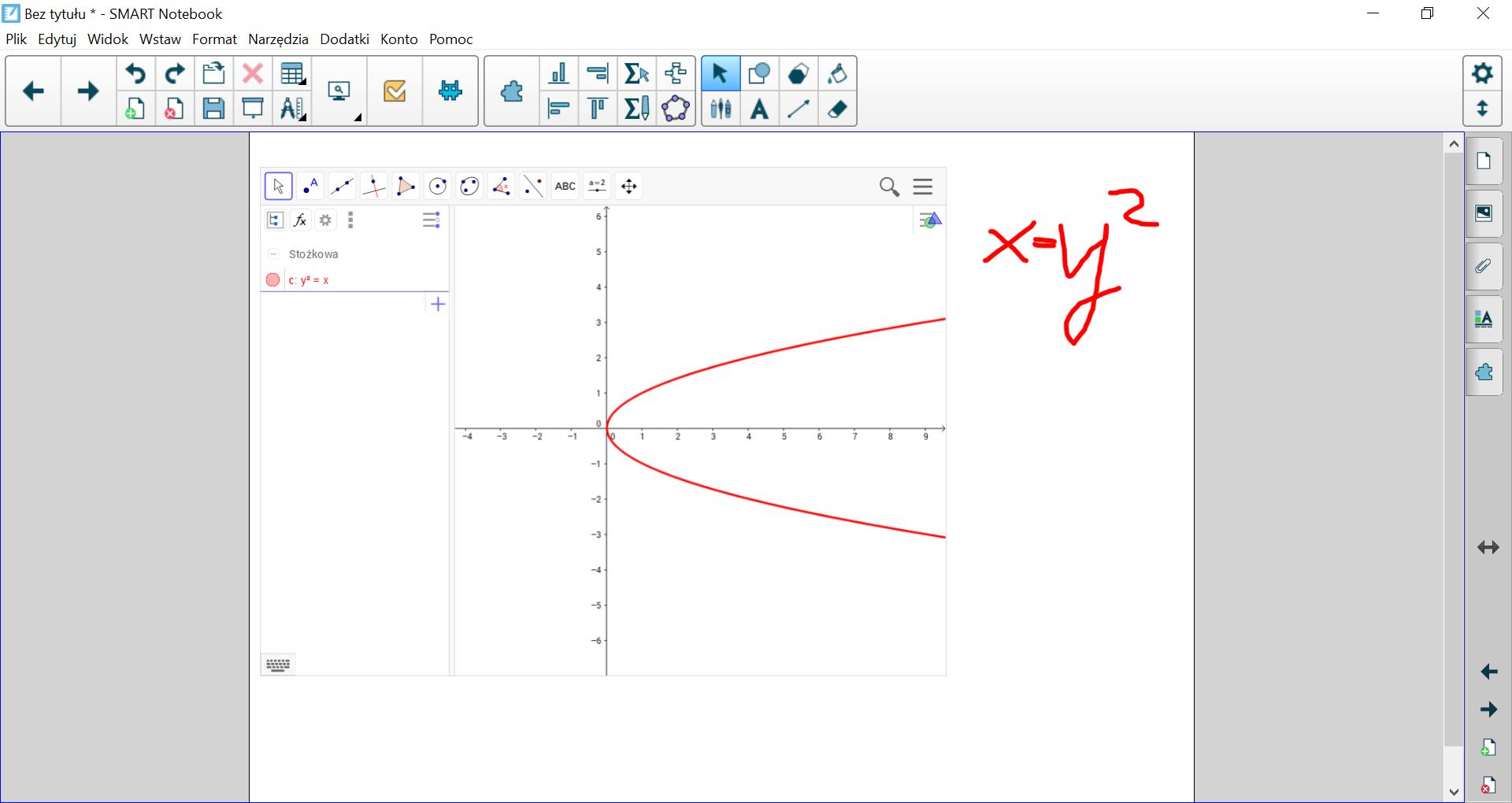 Wersja podstawowa SMART Notebook